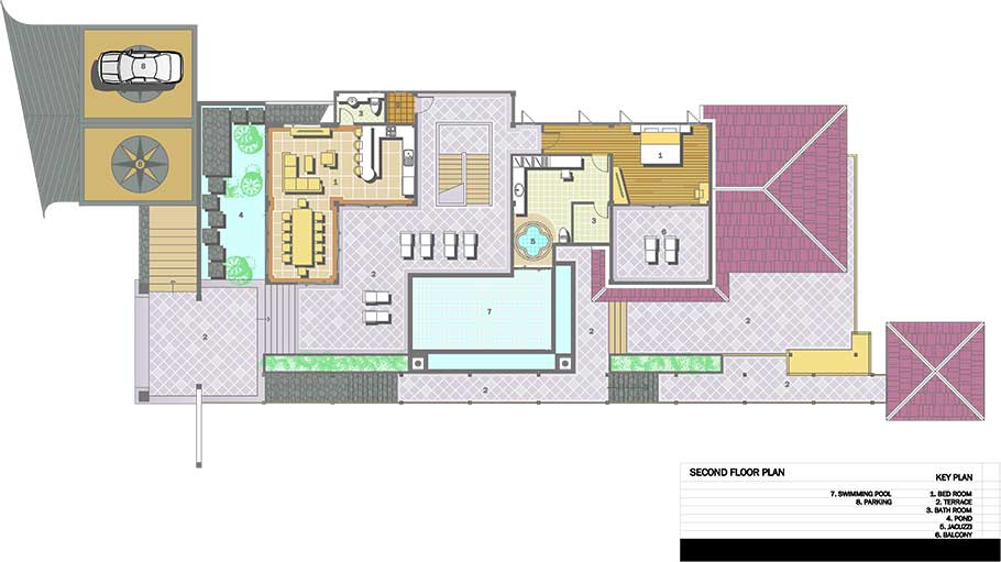 Luxury villas in phuket naka villa floor plans for Plan villa r 2